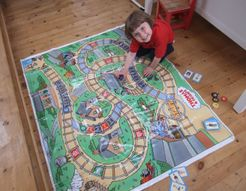 Thomas and Friends All Aboard Giant Floor Game