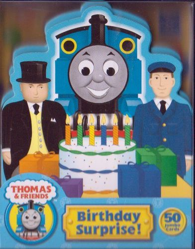 Thomas & Friends: Birthday Surprise Card Game