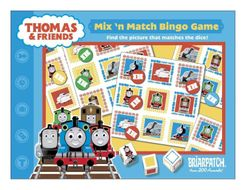 Thomas & Friends Mix 'n Match Bingo Game
