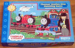 Thomas' Station Stop Matching Game
