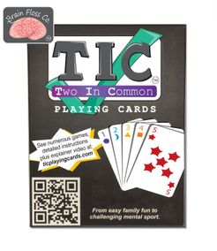 TIC Playing Cards (Two In Common)