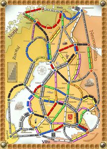 Ticket to Finland (fan expansion for Ticket to Ride)