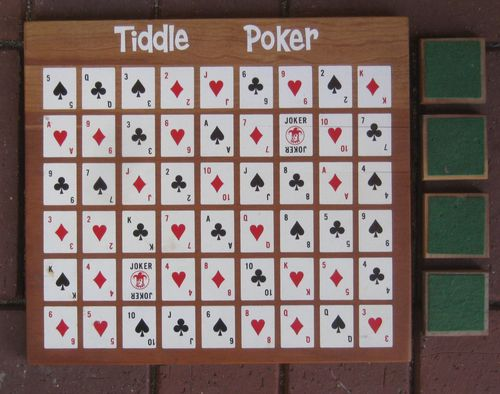 Tiddle Poker