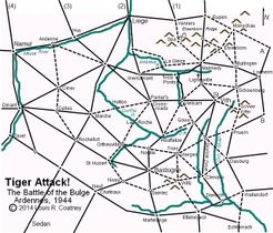 Tiger Attack!  The Battle of the Bulge, Ardennes 1944