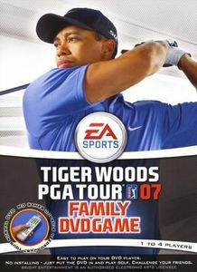 Tiger Woods PGA Tour DVD Family Game
