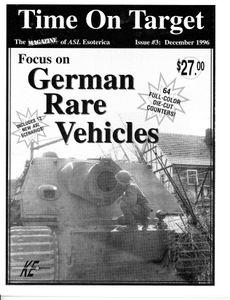 Time on Target: German Rare Vehicles