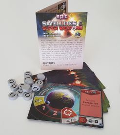Tiny Epic Galaxies: Satellites & Super Weapons Mini Expansion