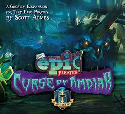 Tiny Epic Pirates: Curse of Amdiak
