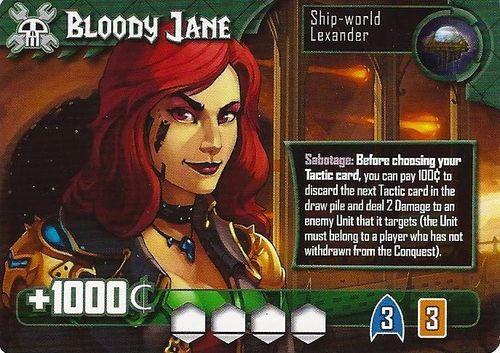Titanium Wars: Bloody Jane