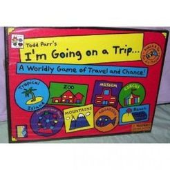 Todd Parr's I'm Going on a Trip...A Worldly Game of Travel and Chance