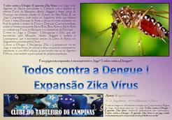 Todos contra a Dengue!: Expansão Zika Vírus