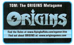 TOM: The Origins Metagame