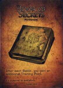 Too Many Bones: Book of Secrets Promo Card