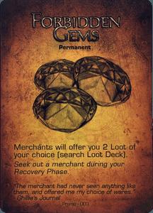 Too Many Bones: Forbidden Gems Promo Card