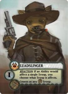 Tooth & Nail: Factions – Leadslinger Dogs of War Troop