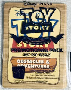 Toy Story: Obstacles & Adventures – Promotional Pack