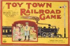 Toy Town Railroad Game