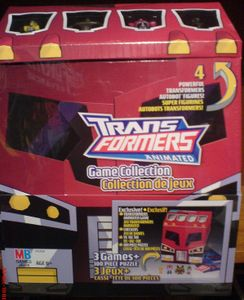 Transformers Animated Board Game