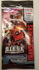 Transformers: Siege War for Cybertron Convention Pack 2019