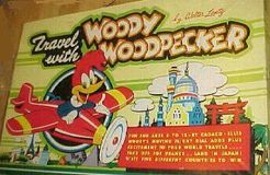 Travel  with Woody Woodpecker