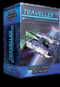 Traveller Customizable Card Game: Empress Marava Far Trader