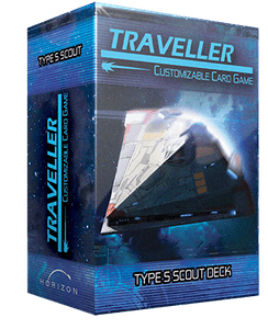 Traveller Customizable Card Game: Type S Scout Deck