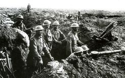 TRENCH SOLDIERS: A Solitaire Game of Combat in the Trenches of the First World War (1914-1918).