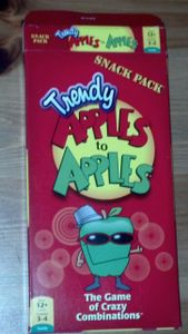 Trendy Apples to Apples Snack Pack