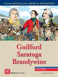 Tri-Pack: Battles of the American Revolution – Guilford, Saratoga, Brandywine