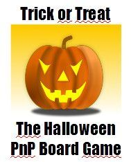 Trick or Treat Halloween PnP Boardgame