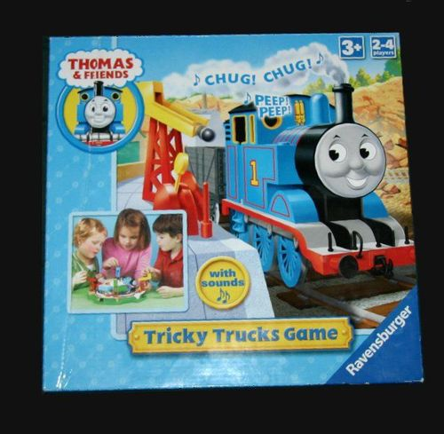 Tricky Trucks Game
