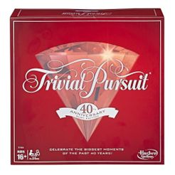 Trivial Pursuit: 40th Anniversary Ruby Edition