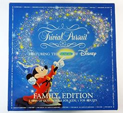 Trivial Pursuit: Family Edition Featuring the Magic of Disney