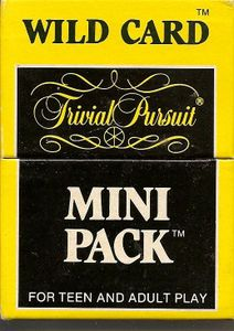 Trivial Pursuit Mini Pack: Wild Card