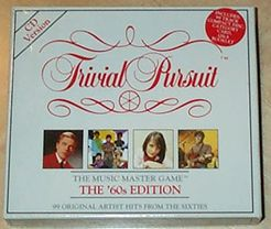 Trivial Pursuit Music Master Game: The '60s Edition