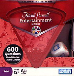 Trivial Pursuit Singles: Entertainment