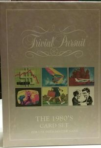 Trivial Pursuit: The 1980's Card Set