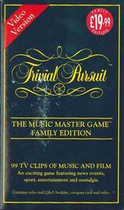 Trivial Pursuit The Music Master Game: Family Edition – Video Version