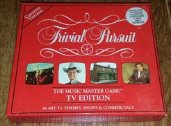 Trivial Pursuit The Music Master Game: TV Edition