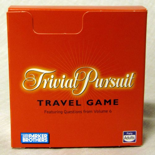 Trivial Pursuit: Travel Game – Featuring Questions from Volume 6