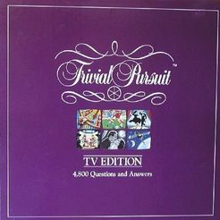 Trivial Pursuit: TV Edition – 4,800 Questions and Answers