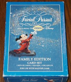 Trivial Pursuit: Walt Disney Family Edition Card Set