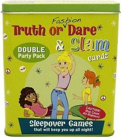 Truth Or Fashion Dare & Other fun Sleepover Games