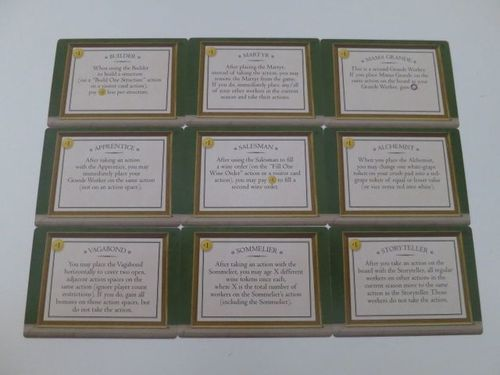 Tuscany: Special Worker Promo Cards