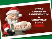T'was A Night of Pandemonium: A Christmas Murder