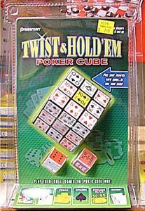 Twist & Hold 'Em Poker Cube