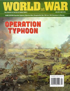 Typhoon Solitaire: the Final German Drive on Moscow, 1941