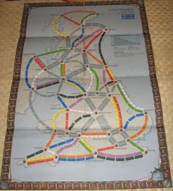 UK version 2.0 (fan expansion to Ticket to Ride)