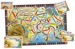 Ukraine (fan expansion to Ticket to Ride)
