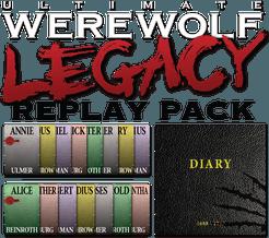Ultimate Werewolf Legacy: Replay Pack